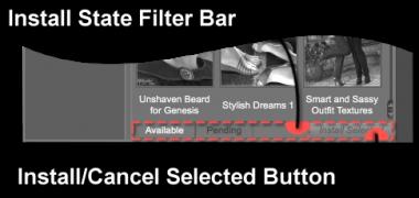 Install State Filter Bar
