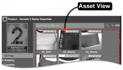 Asset View