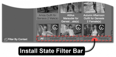 Install State Filter Bar