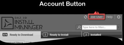 Account Button