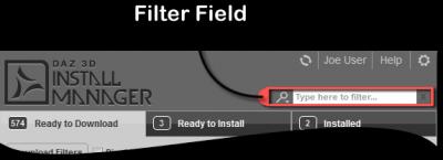 Filter Field